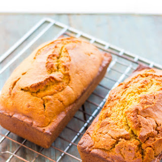 Quick Pumpkin Bread with Homemade Pumpkin Puree