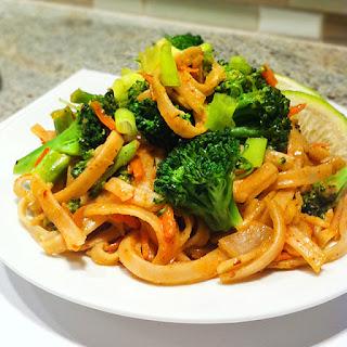 Food Babe's Vegetarian Pad Thai.