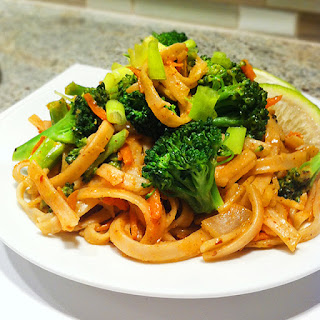 Food Babe's Vegetarian Pad Thai.