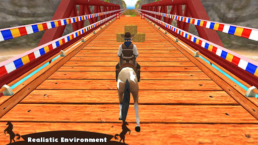 Horse Riding Simulator 3D : Jockey Mobile Game apktreat screenshots 1