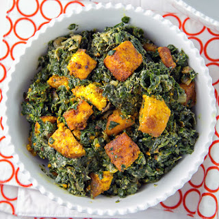 Easy Homemade Saag Paneer.