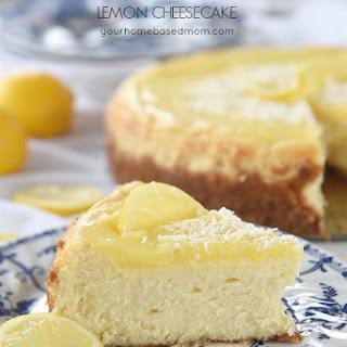 White Chocolate Lemon Cheesecake Recipe