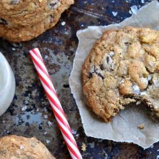 Sea Salt & Caramel Chocolate Chip Cookies.