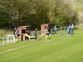 Photo: 20/04/13 v Hatfield Town Blues (Herts Senior County League Division 1) 2-1 - contributed by Bob Davies