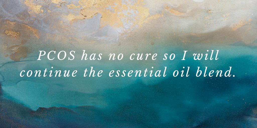 PCOS has no cure