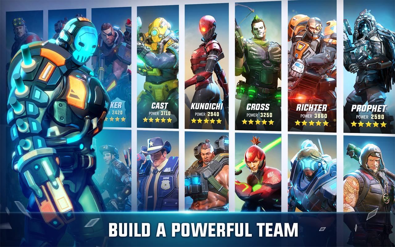 Hero Hunters- screenshot