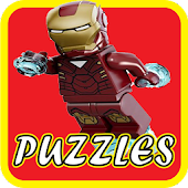 Puzzle lego avengers games