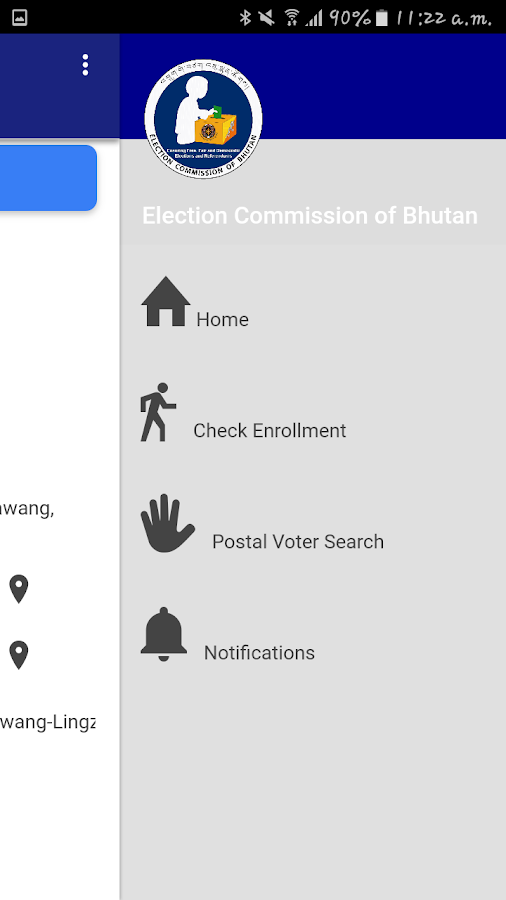 Electoral App- screenshot