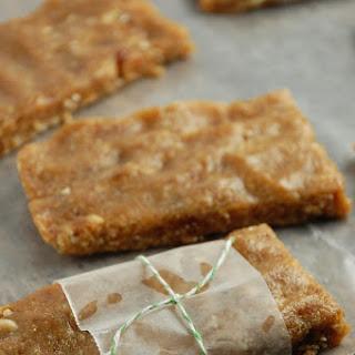 Homemade Cashew Cookie Larabars..
