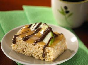 Caramel Apple Rice Krispies Treats Recipe