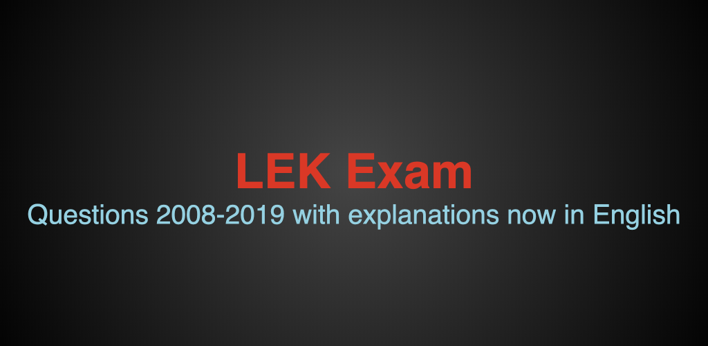 Download LEK Exam APK latest version app for android devices