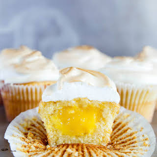 Lemon Meringue Cupcakes.