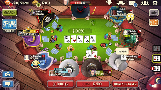 Governor of Poker 3: POKER EN LIGNE GRATUIT HOLDEM  captures d'écran 1