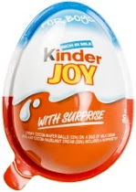 Kinder Joy Easter Egg Chocolate - with Surprise, 20g