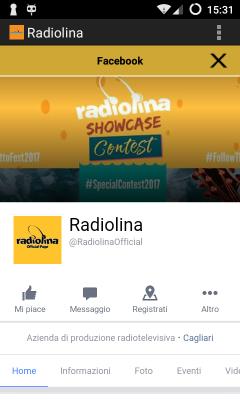 Radiolina- screenshot