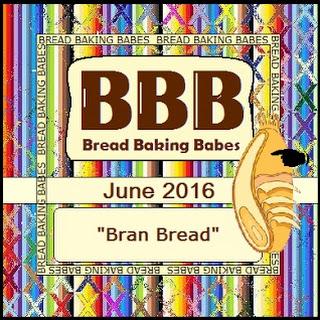 BBB Bran Bread ~ 100% Whole Wheat.