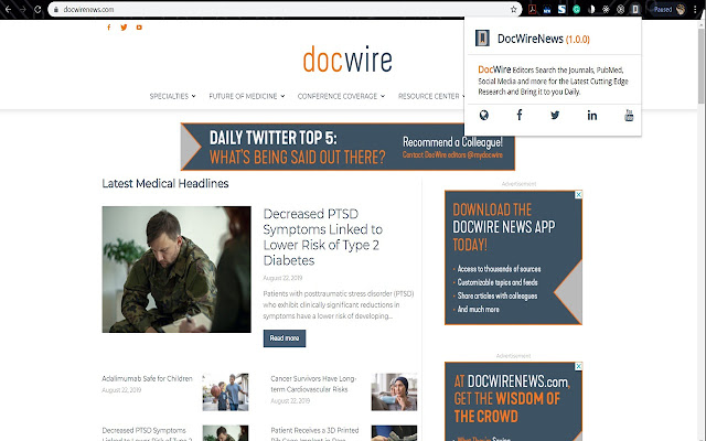 DocWireNews