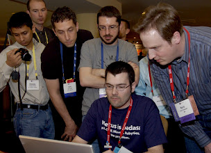 Photo: Mars Rover programming contest at EclipseCon 2010