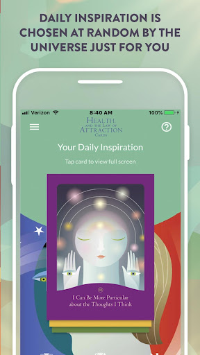 Screenshot for Health and the Law of Attraction Cards in United States Play Store