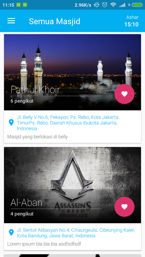 MasjidKita Beta- screenshot