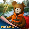 Teddy Floppy Ear: Kayaking icon