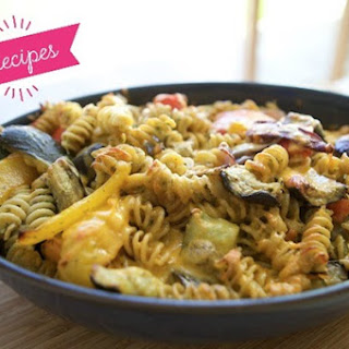 Roasted Vegetables Pasta Bake