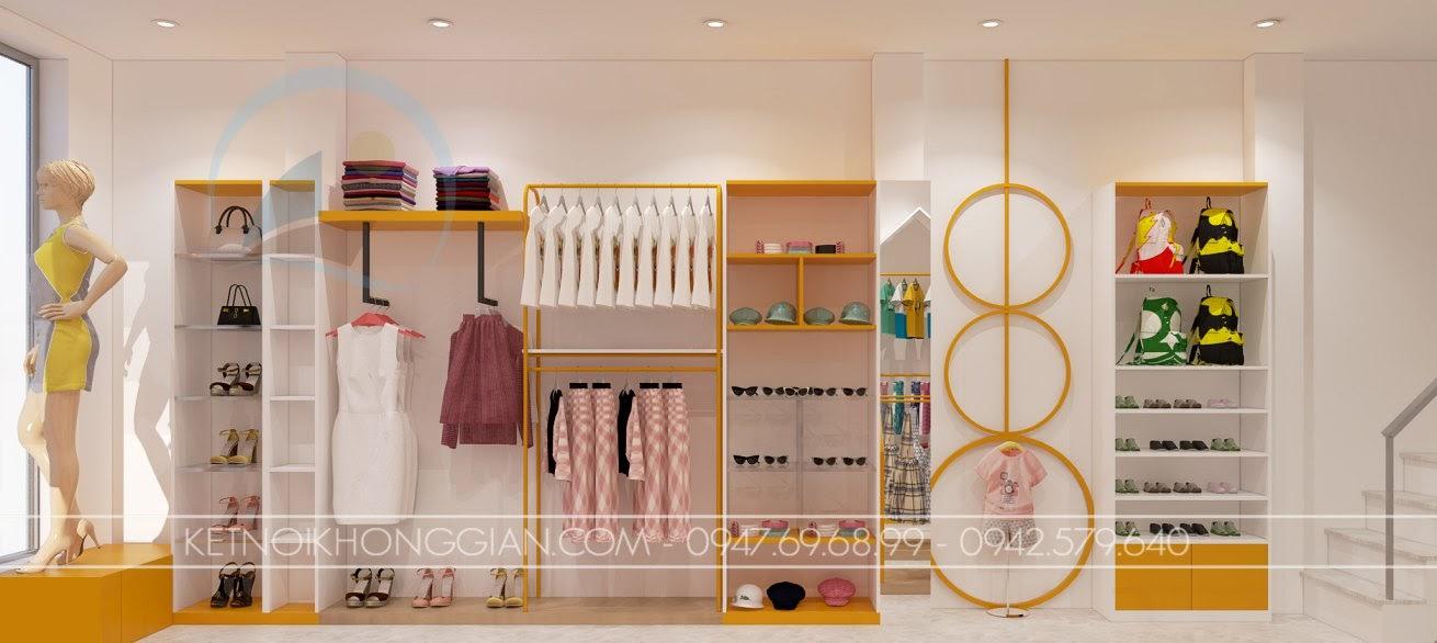 thiết kế shop mẹ và bé nhím store 14