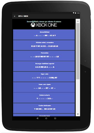 Trucos Cheats para GTA5 2.0 screenshots 13