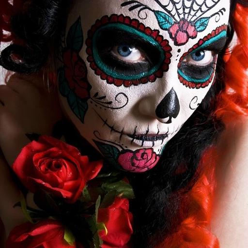 Day of the Dead Make Up 遊戲 App LOGO-硬是要APP