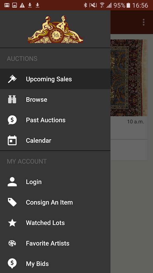 5th Avenue Auctioneers- screenshot