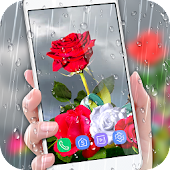 Rose Live Wallpaper 2018 with Waterdrops