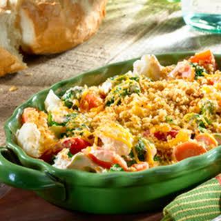 Easy Cheesy Vegetable Casserole.