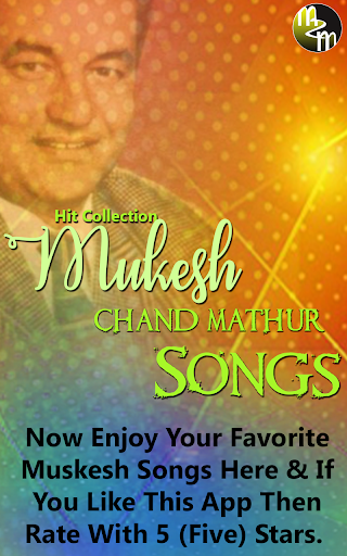 Download Mukesh Old Songs Google Play softwares