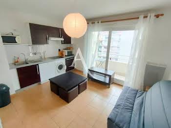 Studio meublé 20,46 m2