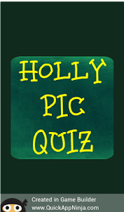 HOLLY PIC QUIZ - náhled