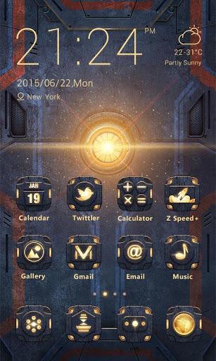 Machinery Theme-ZERO Launcher