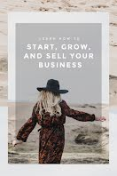 Start, Grow & Sell - Pinterest Pin item