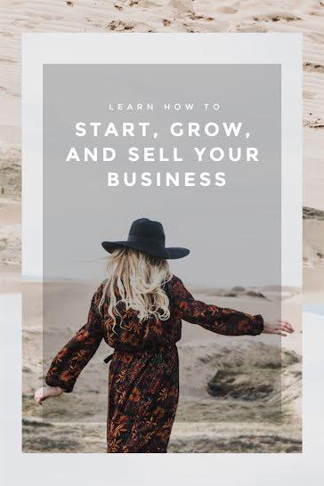 Start, Grow & Sell - Pinterest Pin Template