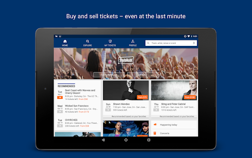 StubHub - Event tickets Screenshot 7