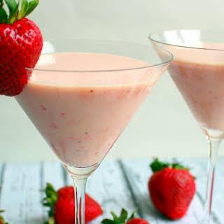 Strawberry Shortcake Martini.
