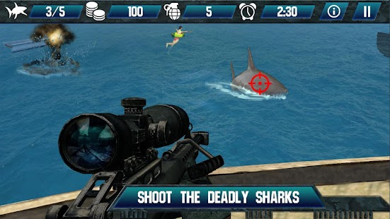 Whale Shark Sniper Hunter 3D- screenshot thumbnail