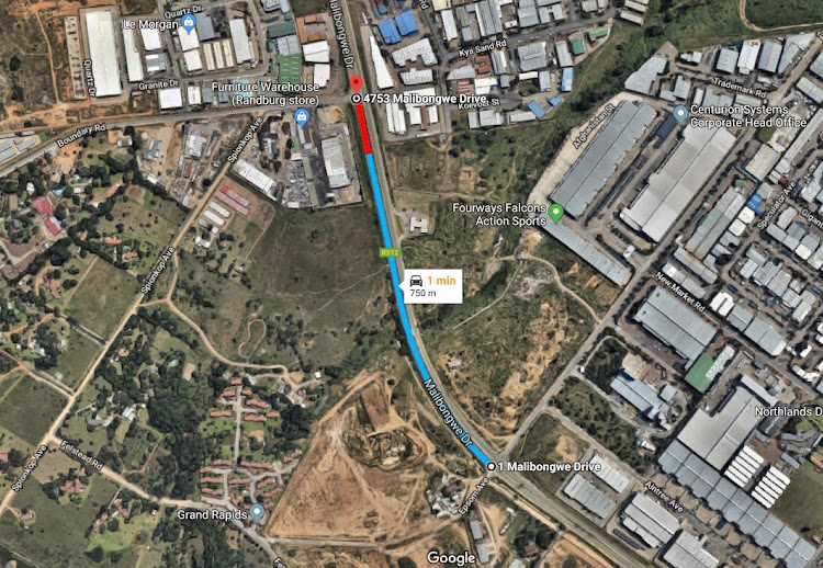 Malibongwe Road will be closed between Epsom Avenue and Boundary Road.