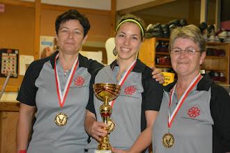 Photo: Doppel Damen LL – 1. Platz: BV OÖ1