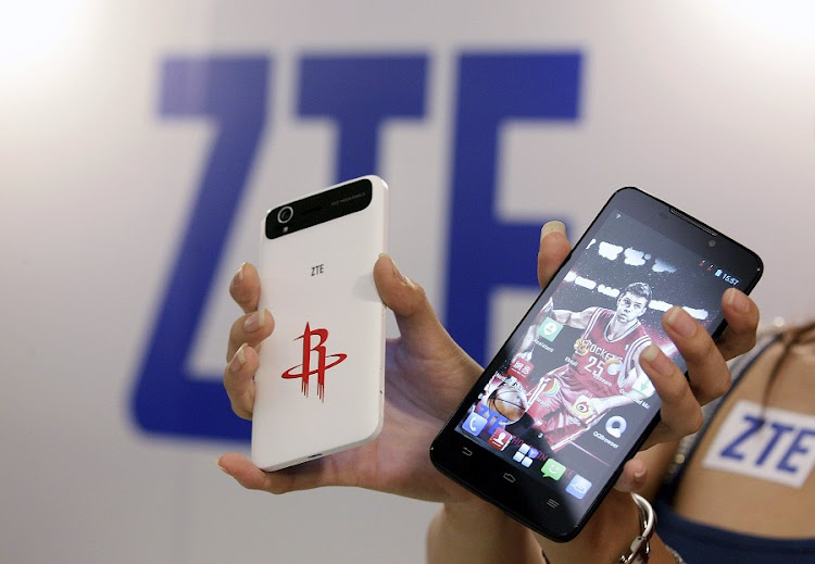 The Grand Memo Lite and Grand S ZTE smartphones . File Picture: REUTERS