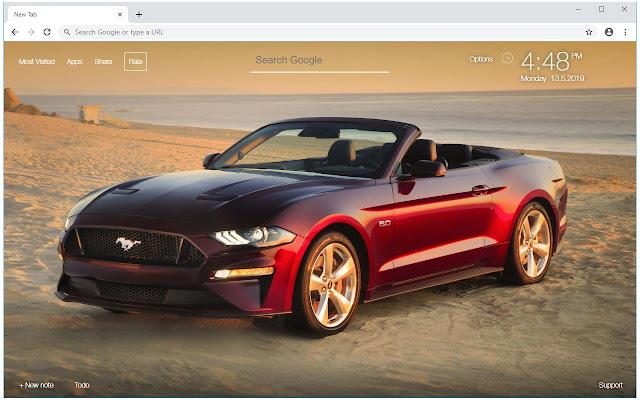 Supercars Lambo-Nissan-Bugatti-Mustang Newtab