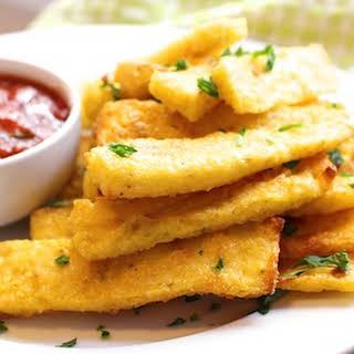 Baked Polenta Fries.