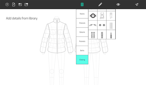 Fashion Design Flat Sketch 1.0 screenshots 14