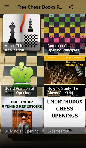 Download Free Chess Books PDF (Opening #1) Google Play softwares