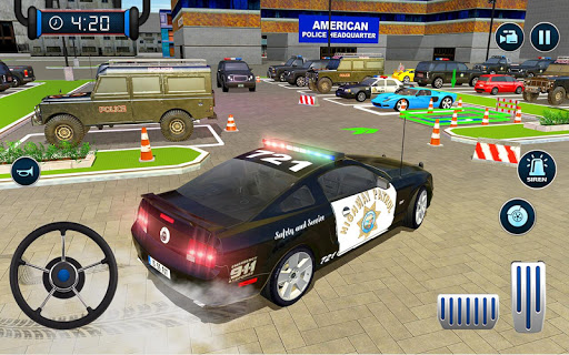 Police Car Parking: Police Jeep Driving Games screenshots 11
