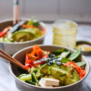 Vegetarian Sushi Salad.